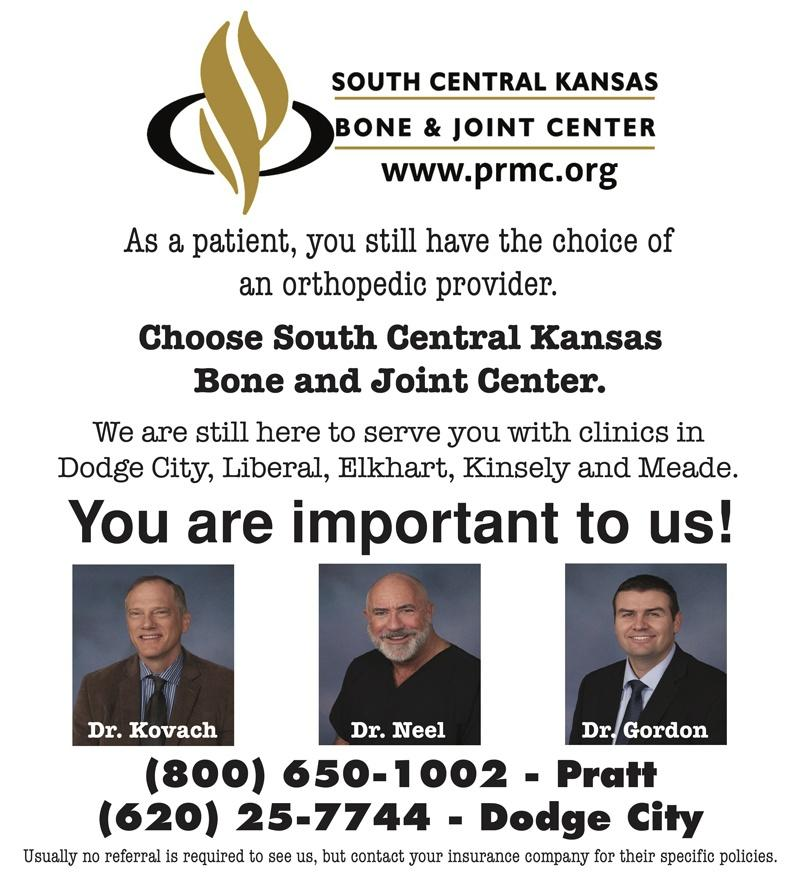 south central kansas bone joint center full page
