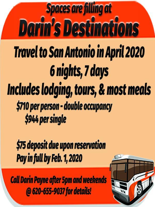 Darin's Destinations