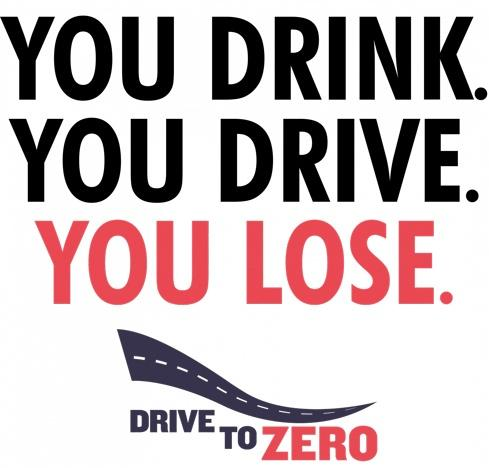 you drink you drive you lose logo
