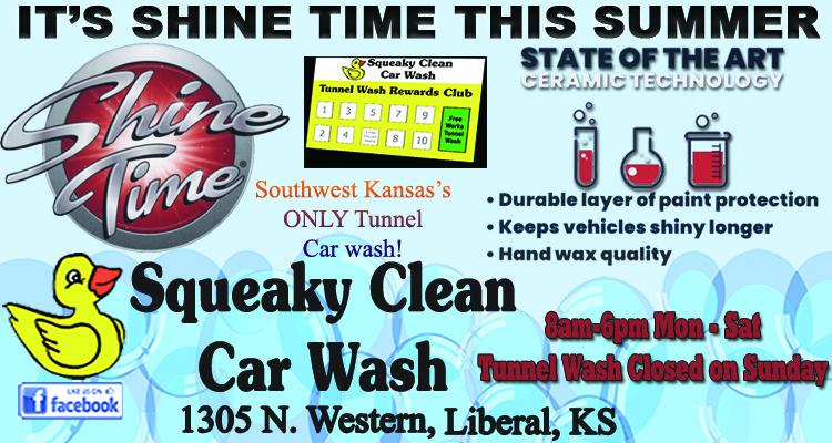 squeaky clean shine time article