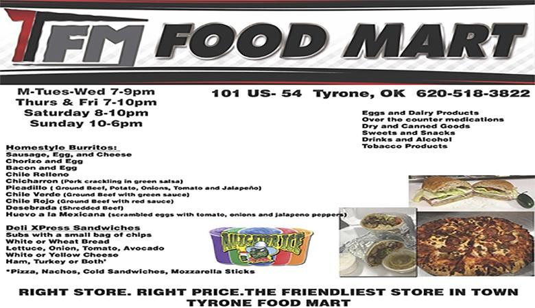 Tyrone Food Mart ARTICLE