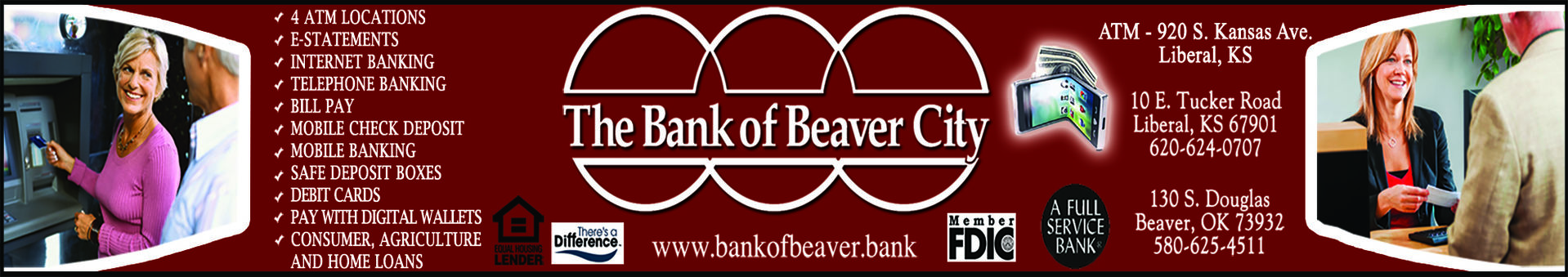 Bank of Beaver City banner