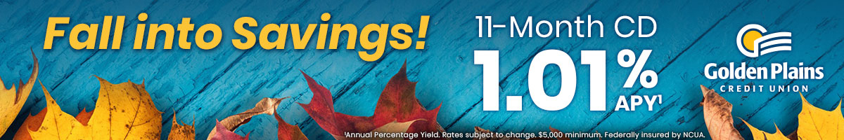 Golden Plains Banner 4(Fall into savings)