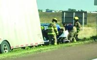 Several injured in semi-pick-up collision