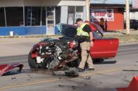 Injury accident halts traffic on Pancake Boulevard Tuesday afternoon