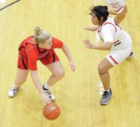 Lady Redskins struggle to score in 45-36 loss