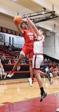 Bulldogs pull away from Cardinals in second half