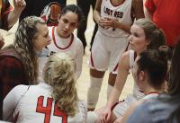 Lady Redskins 'don't let up' in Sub-State win