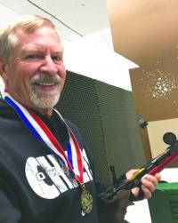 Former Liberal resident Kenneth Kliewer named 2020 Air Pistol Champion