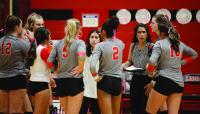Lady Redskins finish volleyball season one match short of State