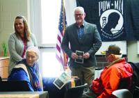 Seymour Rogers students honor veterans with meal and music