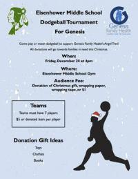 Dodgeball tournament to raise funds for angel tree