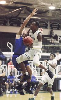 Saints rally in in 2nd half to knock off Cougars 79-72